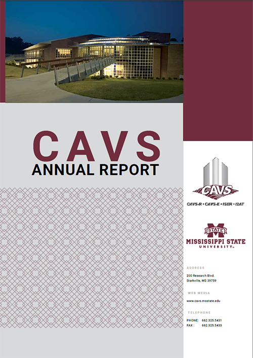 CAVS annual report cover