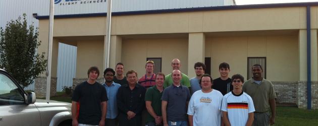 MSU EcoCAR visits Aurora Flight Sciences