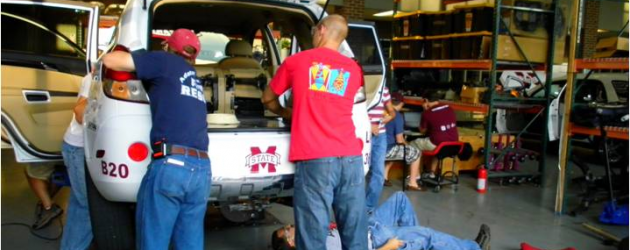 MSU EcoCAR team plugs back in with help of A123